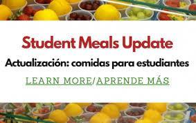 Student Meal Pickup/Drop Off Information Featured Photo