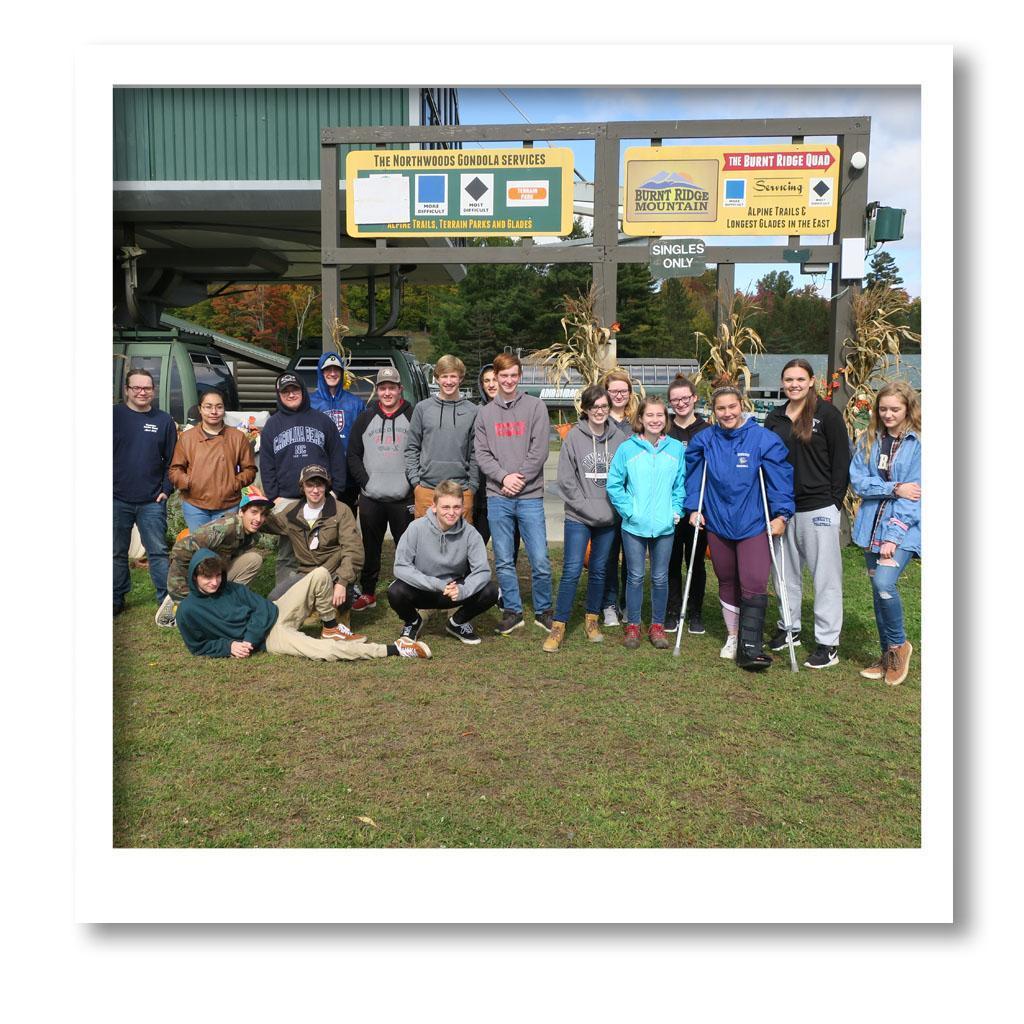 HCS class of 2020 senior trip picture