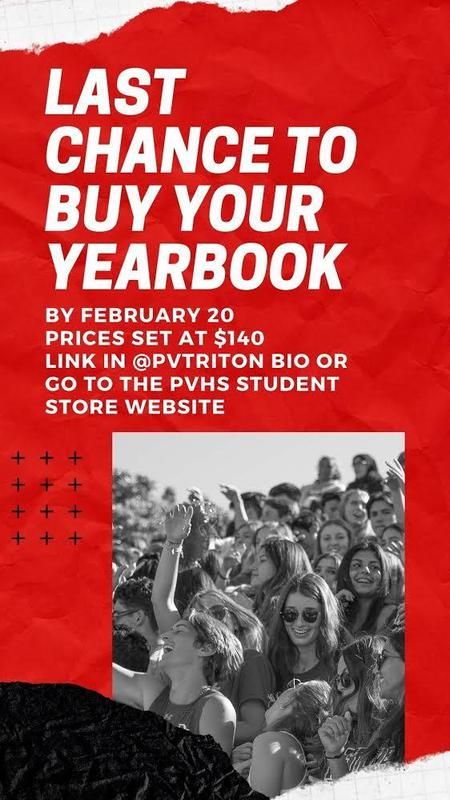Buy your yearbook before it is too late! Thumbnail Image