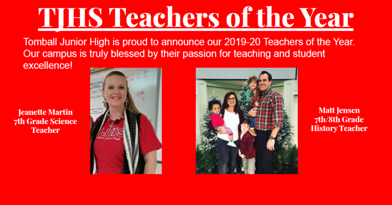 Photo of A+ teachers Mrs. Martin and Mr. Jensen