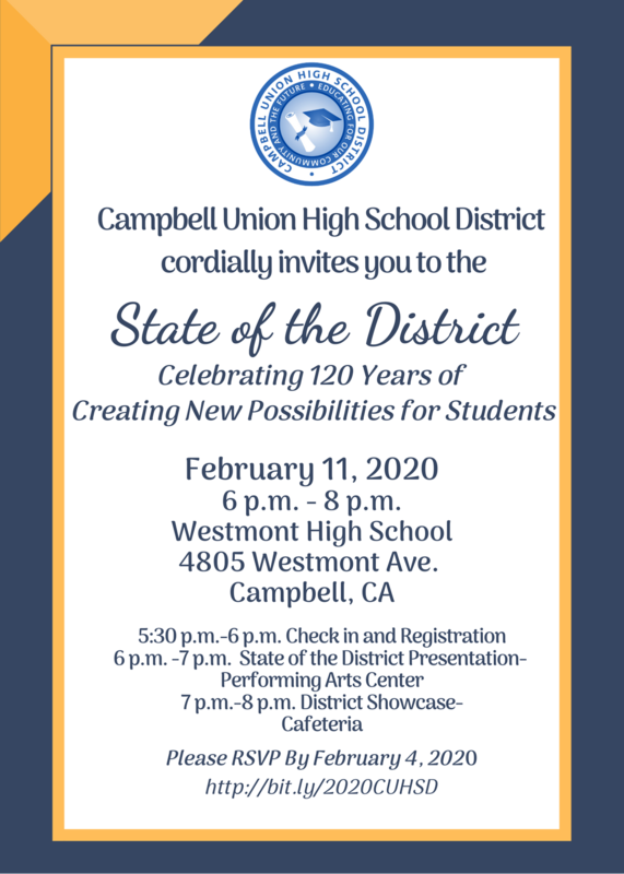 C.U.H.S.D. State of the District presentation