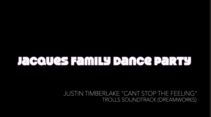 Jacques Family Dance Party