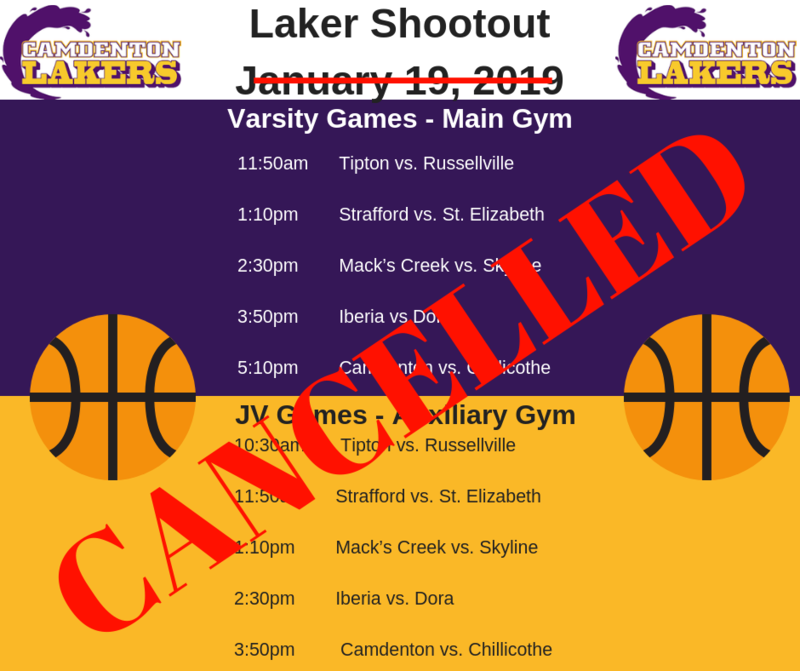 Laker Shootout -  CANCELLED Featured Photo