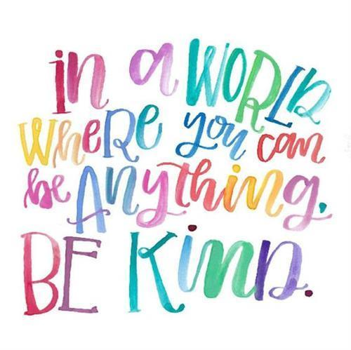 Kindness is important
