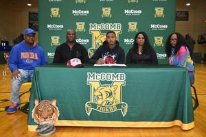 McComb High School Hosts National Football Signing Day  Two McComb High School Scholars signed to Southwest Mississippi Community College.