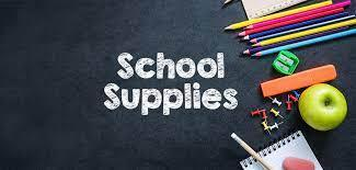 OIS SCHOOL SUPPLIES 2021-2022