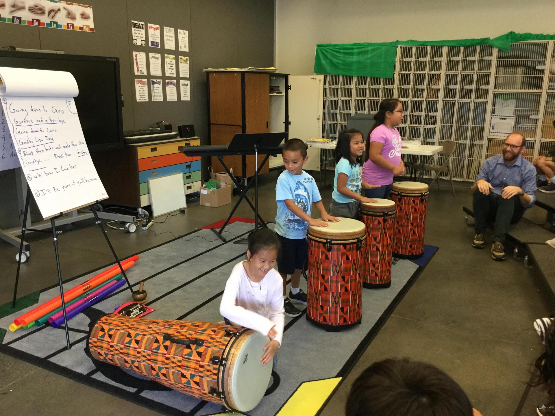 McKinley Music Class
