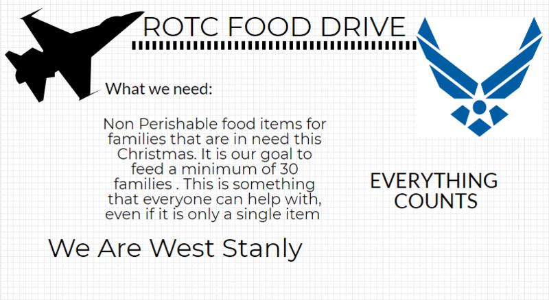 JROTC Food Drive!! Featured Photo