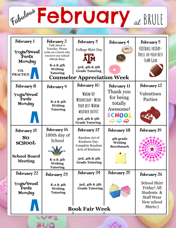 February Calendar of Events Featured Photo