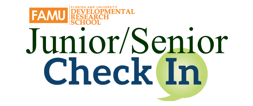 Fall 2019 Junior/Senior Check In Link