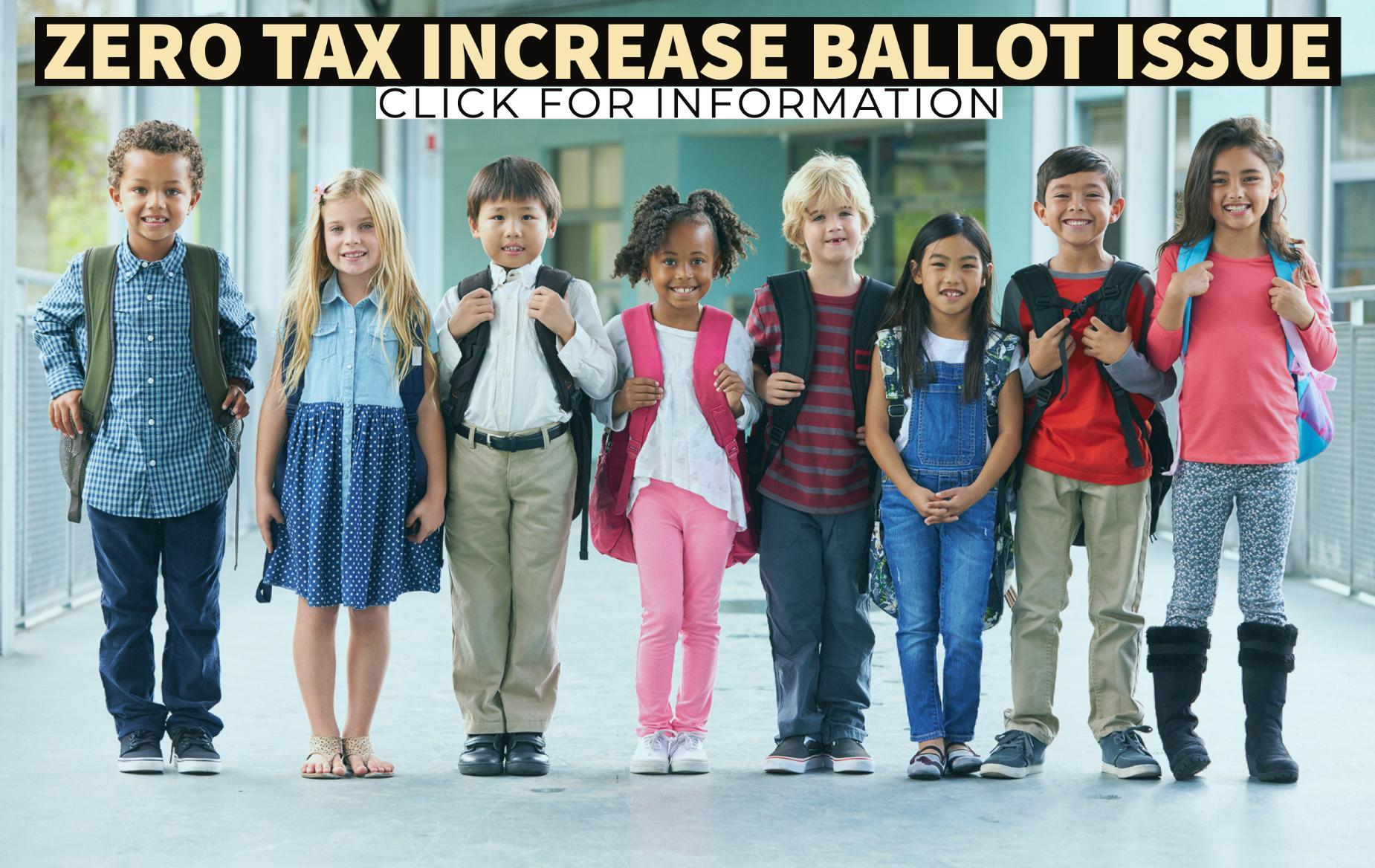 Zero Tax Increase Ballot Issue