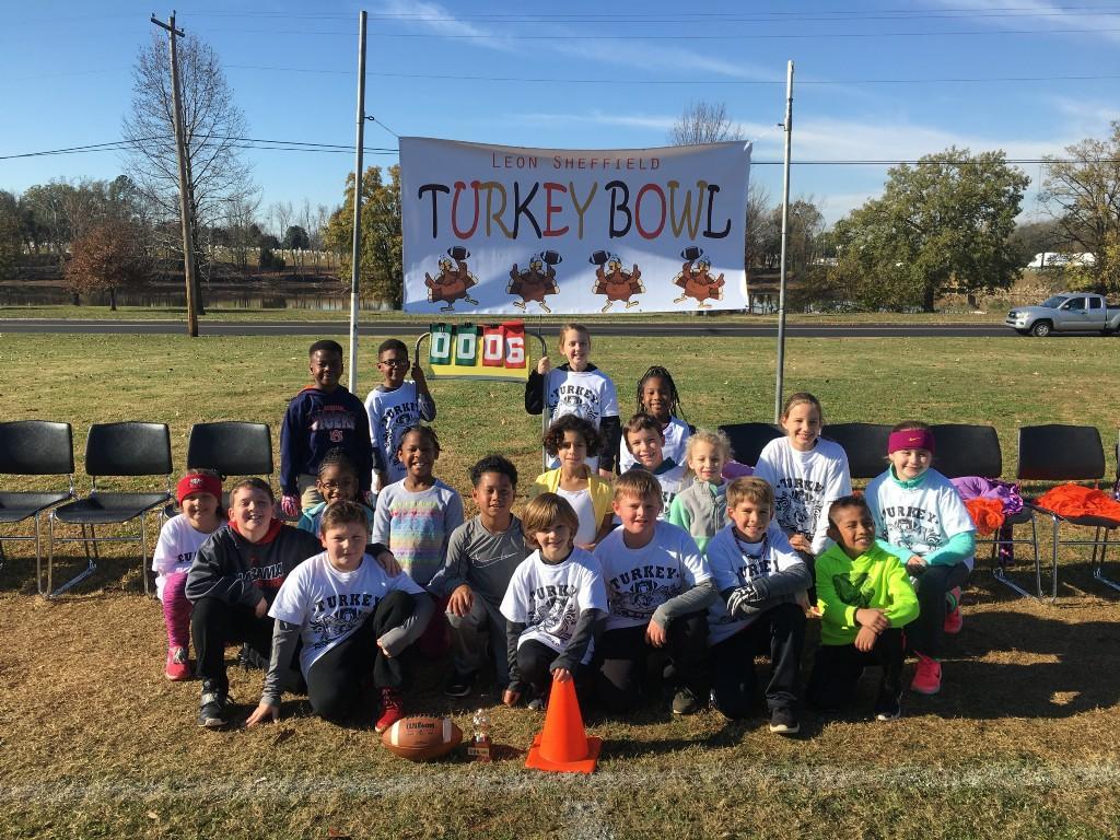 3rd Grade Turkey Bowl Winners - Mrs. Armstrong's Class