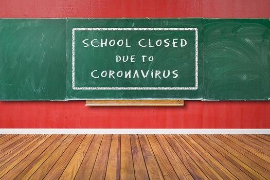 school closed due to covid