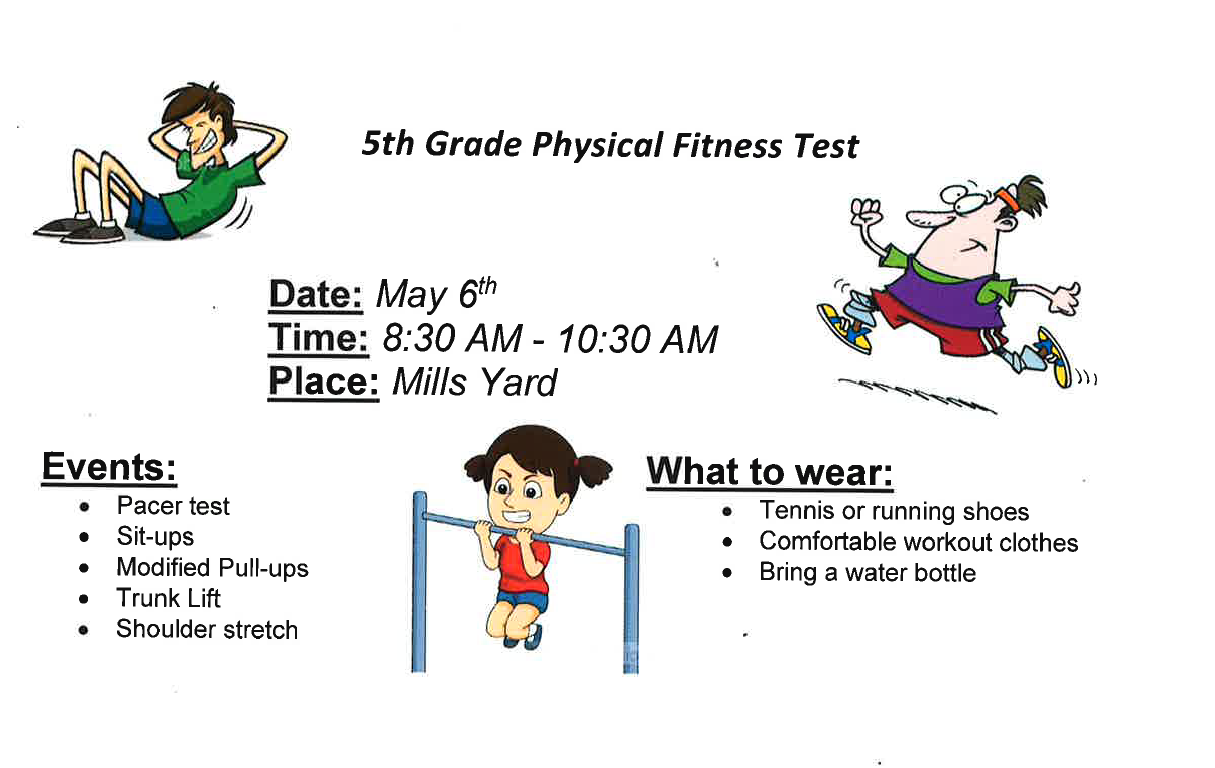 5th grade Fitness Test