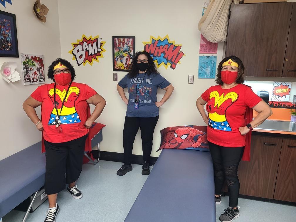 Ms. Pat, Ms. Verdugo, Ms. Hamilton