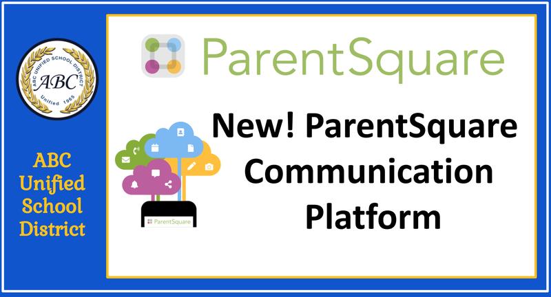 banner ParentSquare - new communication tool announcement