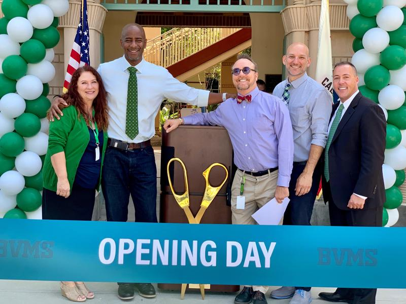 Beverly Hills Unified School District Board of Education officially inaugurated the first consolidated Middle School Featured Photo
