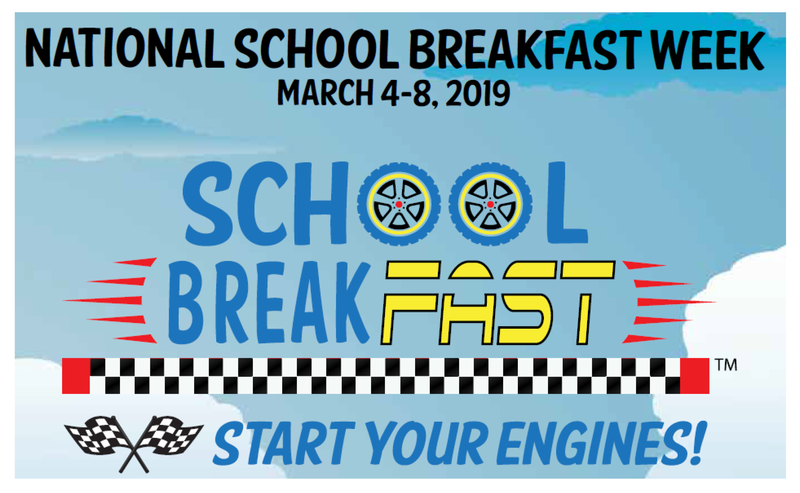 National School Breakfast week! March 4-8 Featured Photo