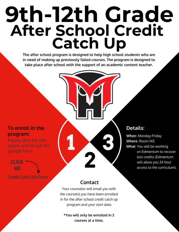 credit catchup flyer