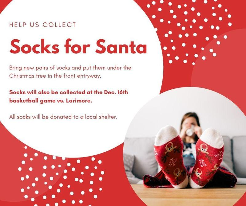 Food Drive & Socks for Santa Featured Photo