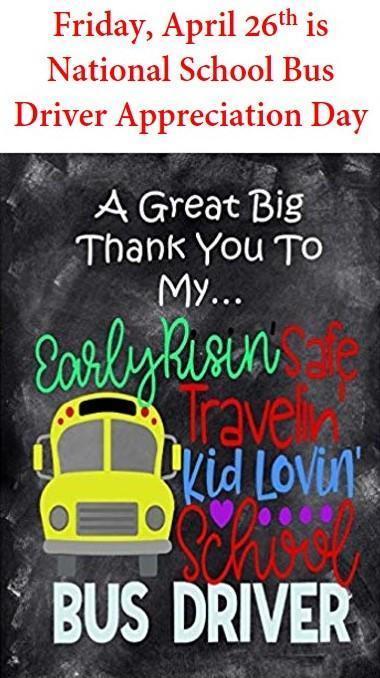 school bus appreciation