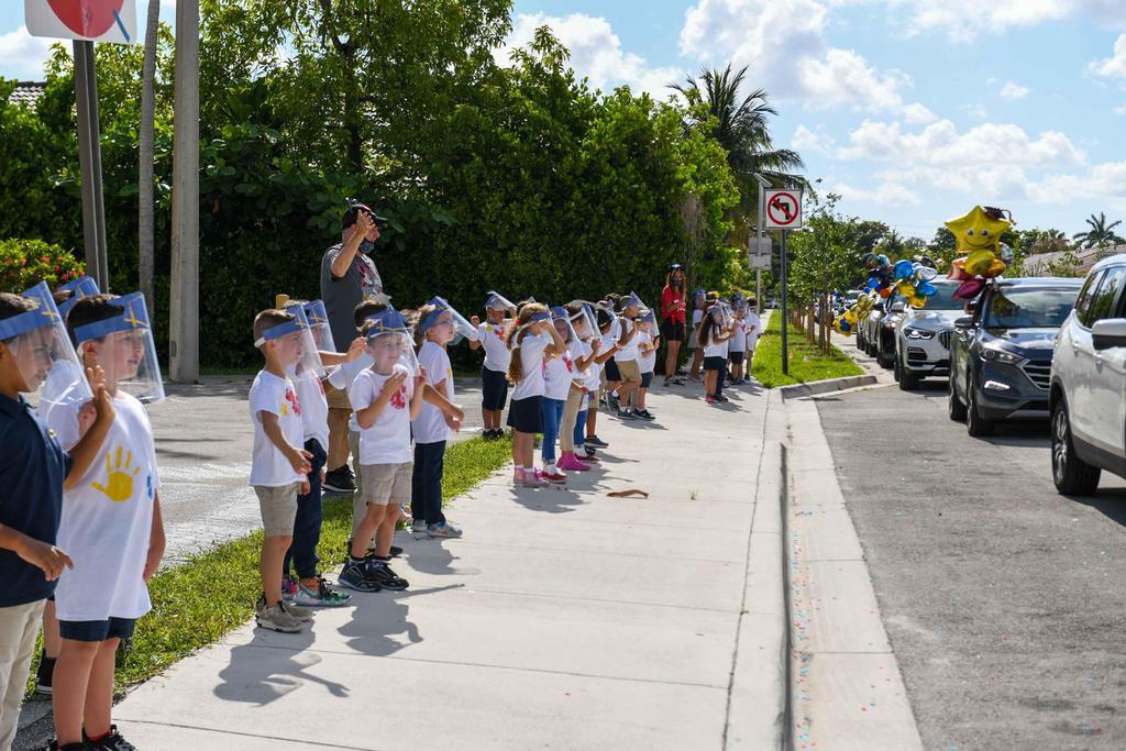 PreK and Kinder Parade 2021