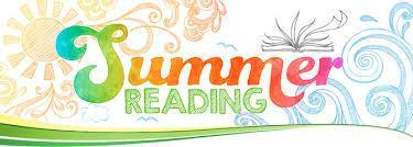 Summer Reading Clip Art, Colorful text