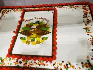 ACES feast cake