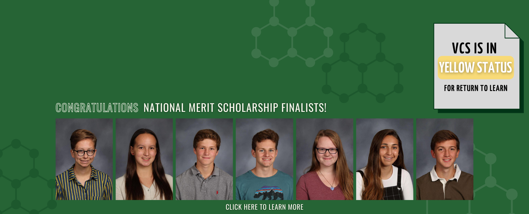 Congratulations National Merit Scholarship Finalists!