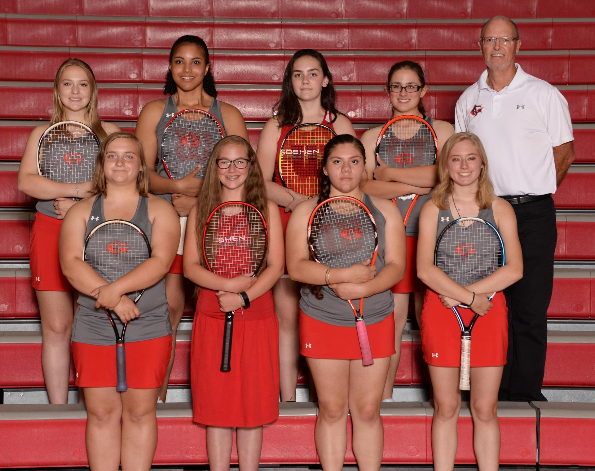 2018 Girls JV Tennis