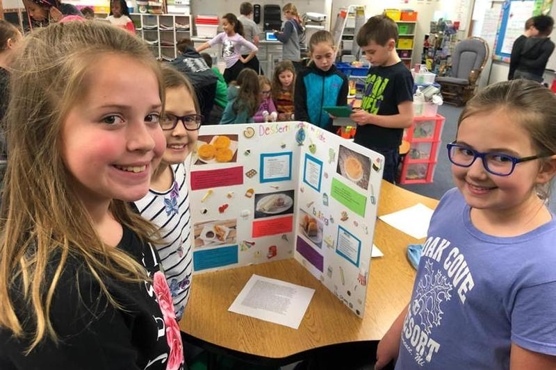 4th-Grade showcases their Genius Hour projects Thumbnail Image