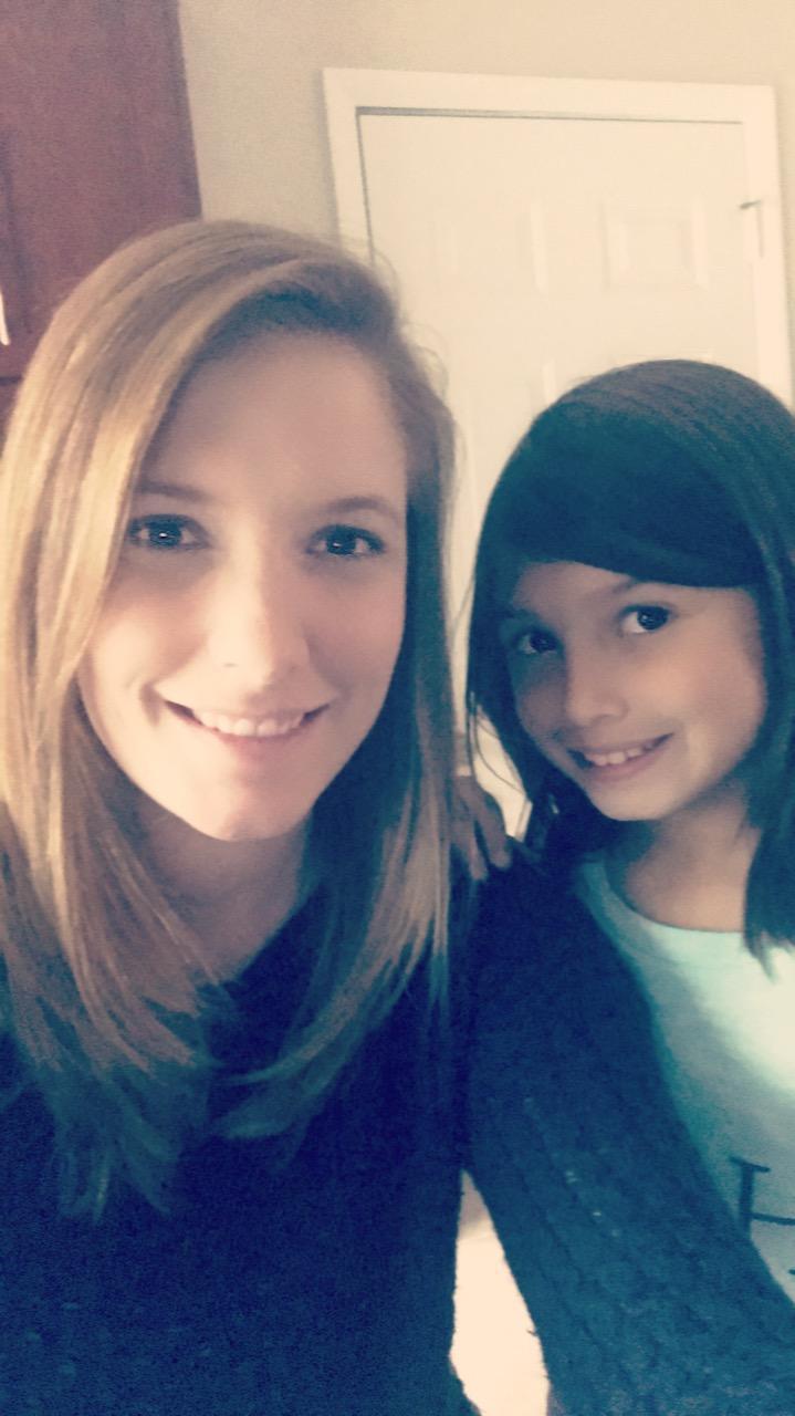 Miss Verzi and Daughter Jamie
