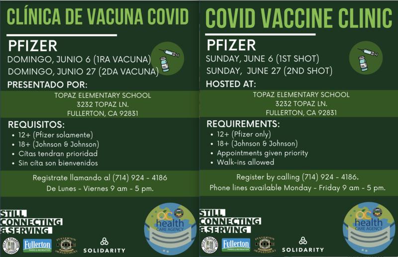 Topaz Covid-19 Vaccination
