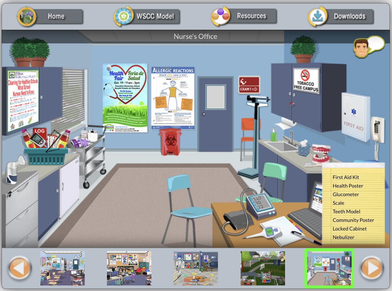 CDC Virtual Interactive Healthy School