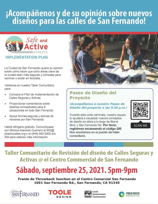 Safe and Active Streets - Spanish Featured Photo