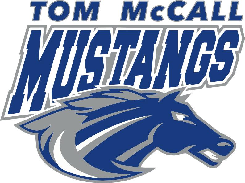 Tom McCall Mustangs Logo
