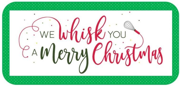 We whisk you a Merry Christmas!