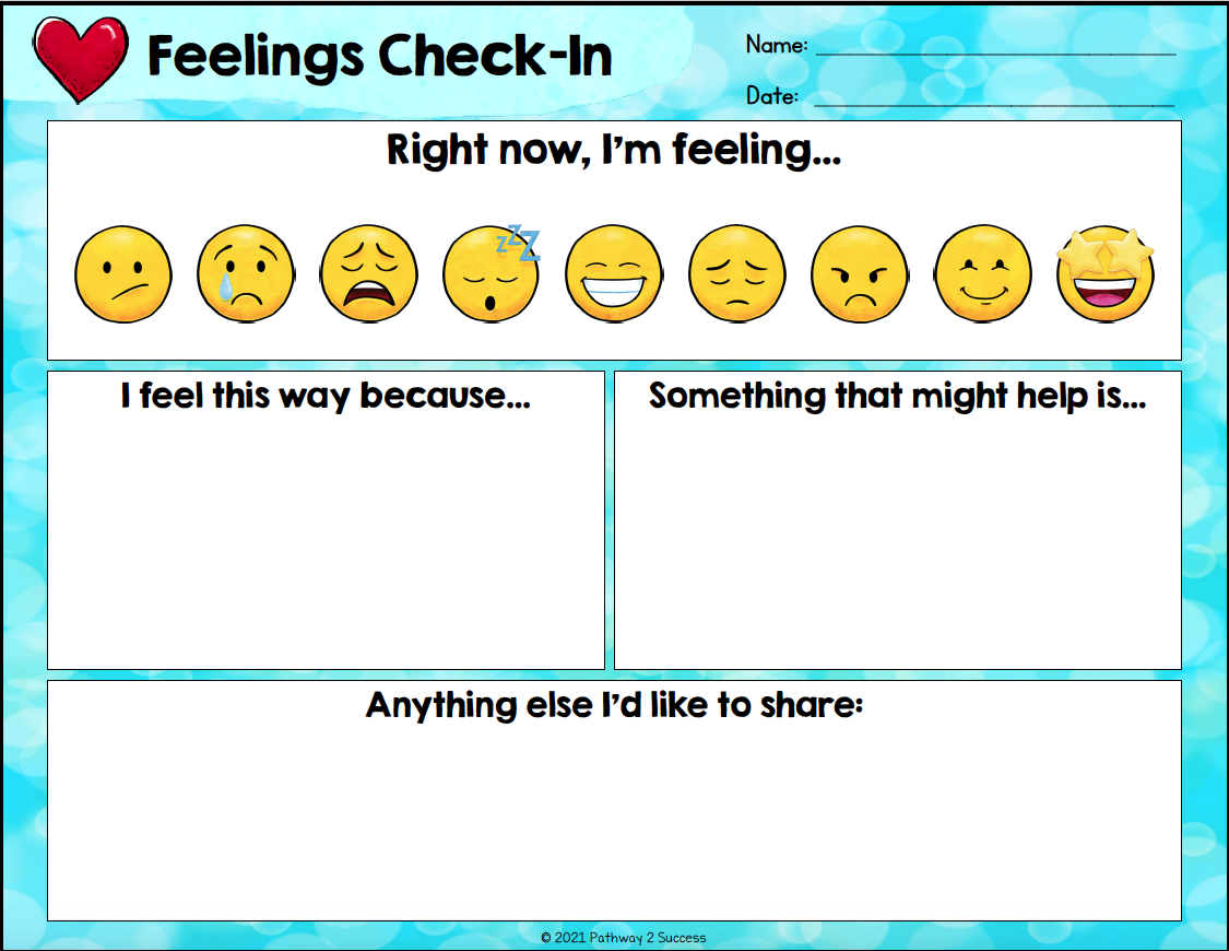 Feelings Check In