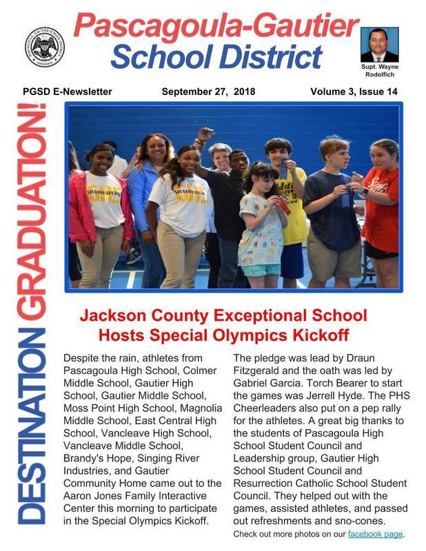 PGSD E-Newsletter Volume 3, Issue 14