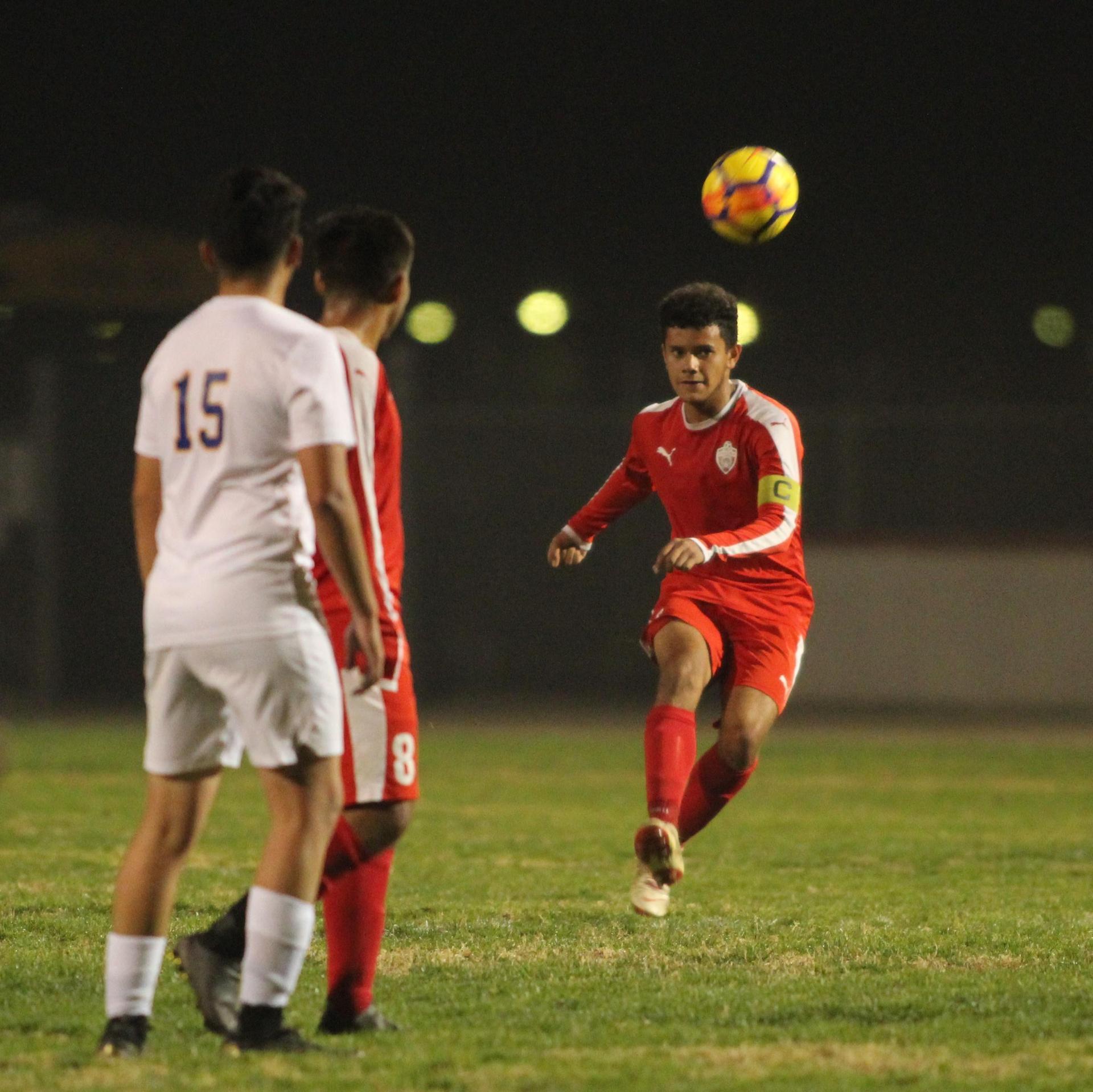 Antonio Ochoa After Kicking the Ball