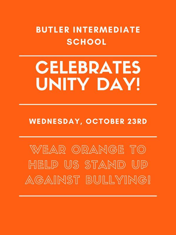 Help us stand up against bullying! Wear orange on 10/23! Featured Photo