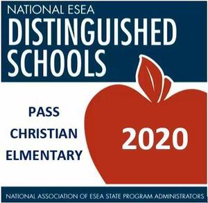 PCES Awarded National ESEA Distinguished Schools Status