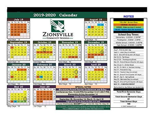 ZCS Calendar