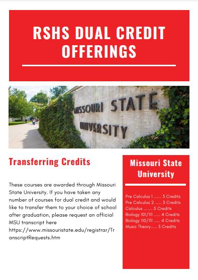 MSU Dual Credit Options