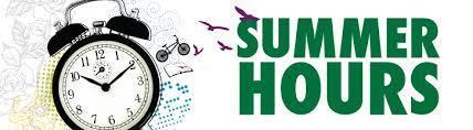 SCS/SALC Summer Hours Featured Photo