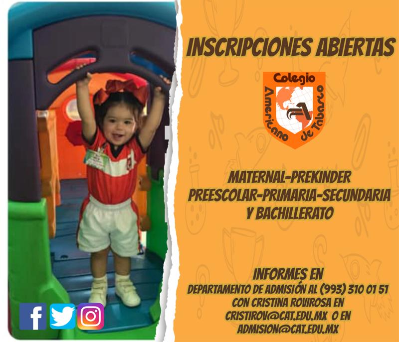 ¡INSCRIPCIONES ABIERTAS! Featured Photo