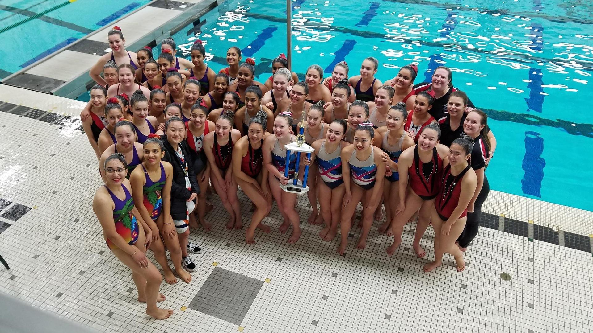 Congratulations to Lori Uchwal and the State Champion Troy United Synchro Team!!!! 2 Years in a row as State Champions!!!!!