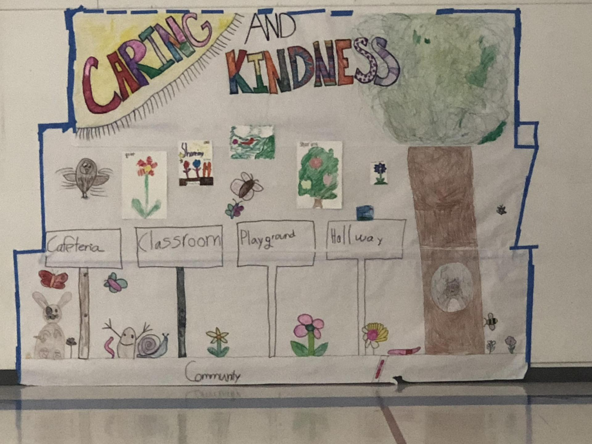 Life Skill poster of Caring & Kindness