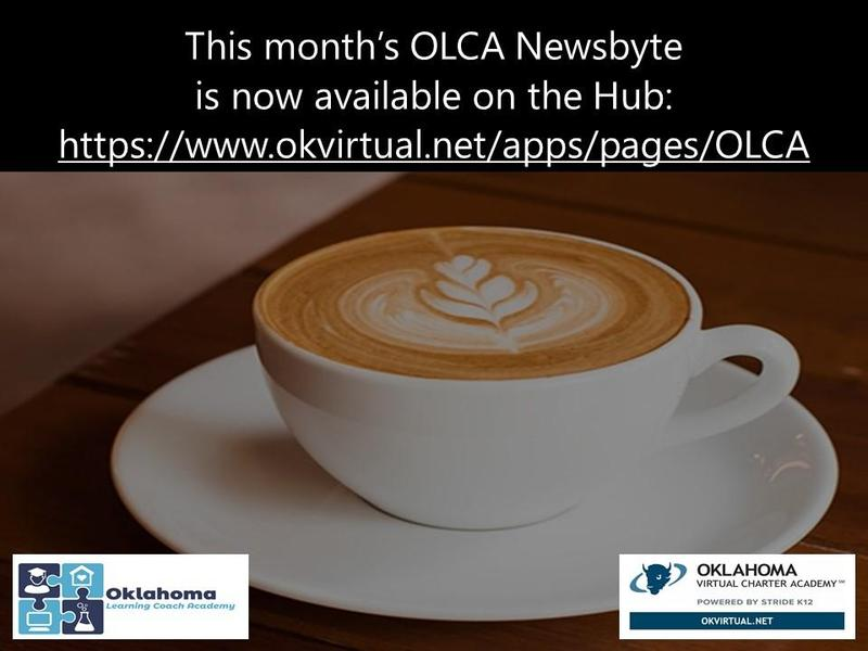 OLCA Newsbyte - Check out what is happening this month! Featured Photo