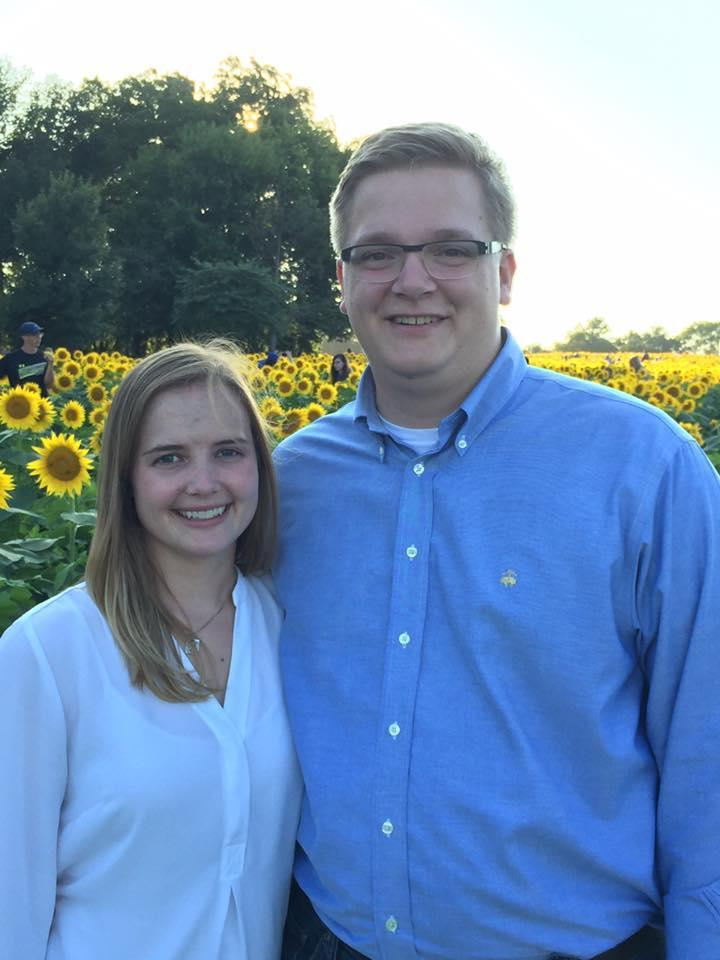 Mr. & Mrs. Z at Grinter Farms Sunflower Fields